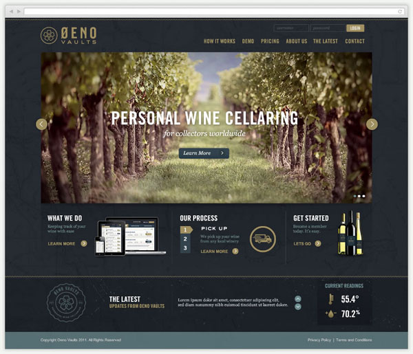 Oeno-Vaults-Web-Design-by-Tractorbeam